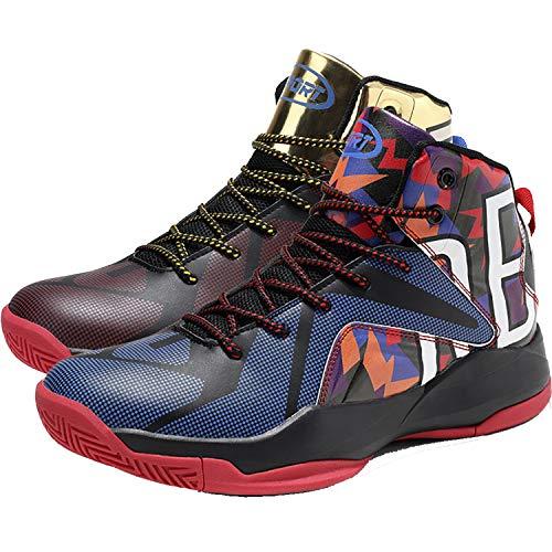 Elaphurus Herren Basketballschuhe Sneakers Ausbildung Outdoor Turnschuhe, 5 Mehrfarbig, 38 EU