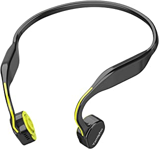 Bone Conduction Headphones Yamipho Open-Ear Wireless Bluetooth 5.0 Headphones Titanium Sports Headsets Waterproof with Mic for Running Driving Cycling 5.1 x 4.5 x 2.6 inches Yellow