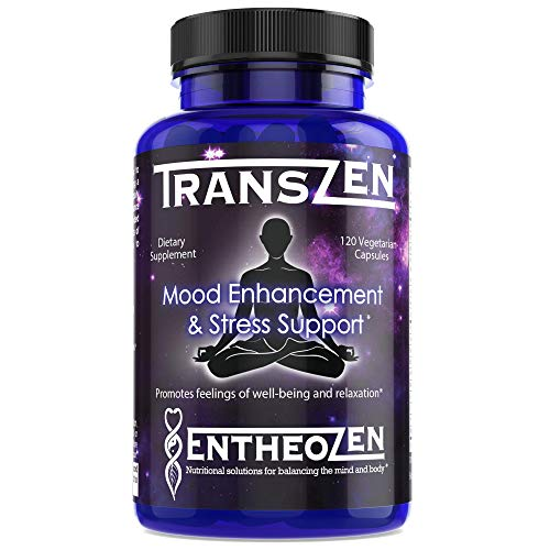 Transzen | Natural Depression &Amp; Anxiety Relief Supplement | Boost Your Mood And Relieve Stress With A Powerful Combination Of 17 Ingredients | Increase Dopamine, Serotonin And Gaba - 120 Capsules