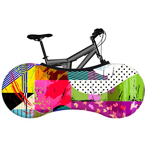SFGSA Funda Bicicleta Plegable de Almacenamiento Exterior Impermeable contra Lluvia Sol Polvo para Bicicletas de Montaña y Carretera,Style 6