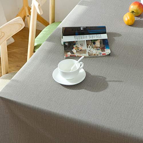 LIUJIU Mantel rectangular de vinilo, impermeable, a prueba de aceite, a prueba de derrames, mantel de PVC, para mesa de comedor, buffet fiestas y camping, 60 x 60 cm