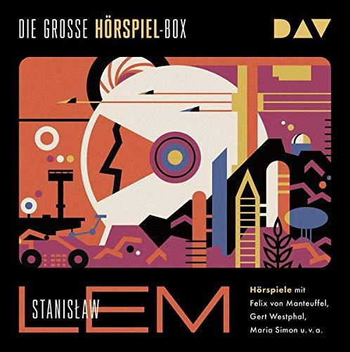 Die große Hörspiel-Box: Hörspiele mit Gert Westphal, Felix von Manteuffel, Maria Simon u.v.a. (8 CDs)
