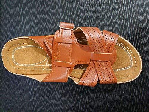 Ergonómica flip-flops del dedo del pie de la correa de las sandalias, llevar zapatillas de punta abierta, antideslizantes sandalias de cuña-oscuro brown_38, antideslizante baño del deslizador de las c