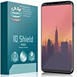 IQ Shield Matte Screen Protector Compatible with Samsung Galaxy S8 Plus (Not Glass)(Case Friendly)(2-Pack) Anti-Glare Anti-Bubble Film