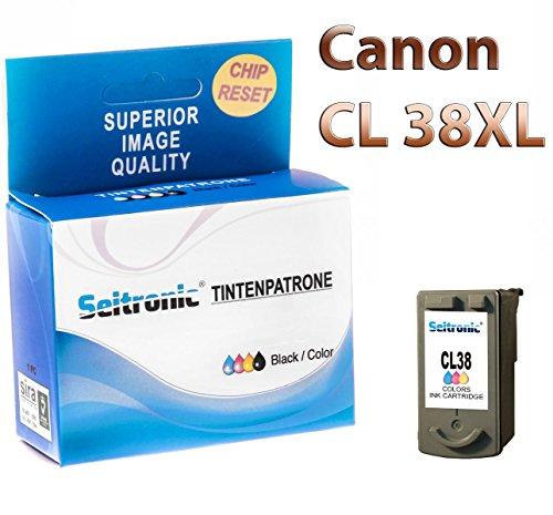 Seitronic Premium Patronen für Canon CL-38 Color 3-Farbig Pixma