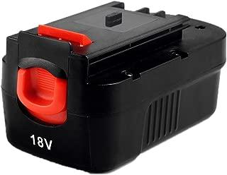 Masione 2000mah NI-CD Battery for Black & Decker 18volt Power tools HPB18 HPB18-OPE 244760-00 A1718 A18 fits Firestorm A18 FS180BX FS18BX FS18FL FSB18 NST2018 NST1810 NHT518 NS118 NPP2018 NPT3118