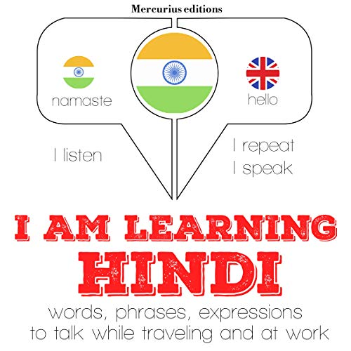 I am learning Hindi audiobook cover art