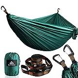 NatureFun Hamaca ultraligera para camping| 300kg de capacidad de...