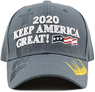 c730adb6d38 THE HAT DEPOT Exclusive Donald Trump Slogan Keep America Great Make America  Great Again 3D