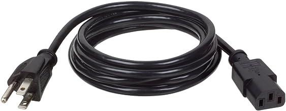 Tripp Lite Standard Computer Power Cord 10A,18AWG (NEMA 5-15P to IEC-320-C13) 6-ft.(P006-006)
