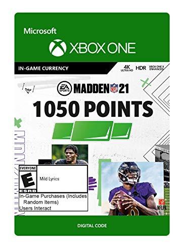 Madden NFL 21: 1050 Madden Points - Xbox One [Digital Code]