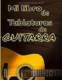 Mi libro de tablaturas de guitarra: Lo que sea por tu forma de tocar la guitarra. 100 páginas de cuadrículas y tablaturas de acordes. Formato 8,5 X 11