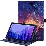 Fintie Hülle für Samsung Galaxy Tab A7 10,4 2020, Multi-Winkel Betrachtung Folio Schutzhülle mit Auto Schlaf/Wach, Dokumentschlitze für Galaxy Tab A7 10.4 Zoll SM-T500/T505/T507, Die Galaxie