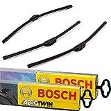 3x Scheibenwischer Vorne+Hinten Bosch AeroTwin B-Aero-A936S-A400H