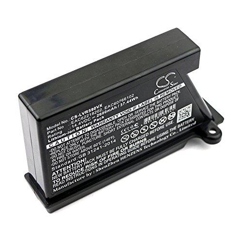 cellePhone batería Li-Ion para LG VR34406LV VR34408LV VR5902LVM (reemplazado EAC62218202) - 2600 mAh