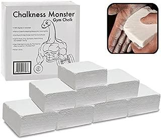 Gym Chalk - Gymnastics, Rock Climbing, Power Lifting, Crossfit No Slip, No Moisture Chalk (1 LB)
