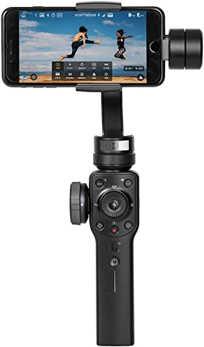 Zhiyun Smooth 4 3-Axis Handheld Gimbal Stabilizer Support POV Orbital Shot, Roll-angle Time Lapse, Focus Pull & Zoom ...
