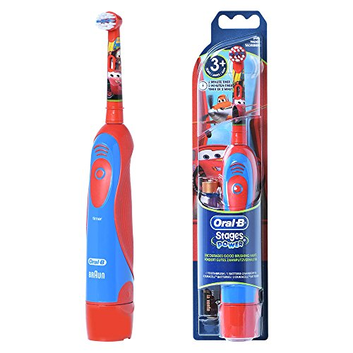 Braun ORAL-B 4510K Stages Power Electric Toothbrush for Kids [ Disney Cars ]