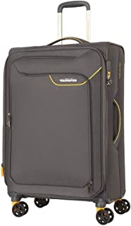 American Tourister Applite 4 71cm Case Soft Suitcase Luggage Trolley Grey Large