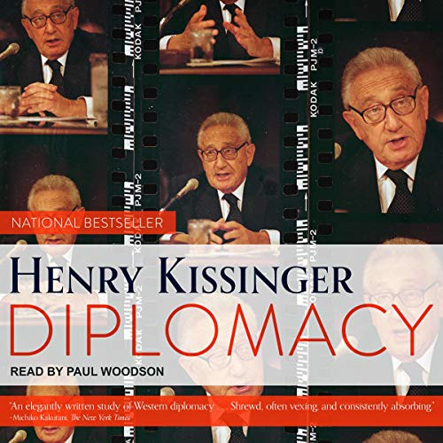 Diplomacy Audiobook By Henry Kissinger cover art