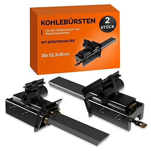 Motorkohlen 2Stk Kohlebürsten Ersatz für Bosch 00600889 Kohlen Schleifkohlen für Siemens Waschmaschine Blomberg/Brandt/Whirlpool/Bauknecht