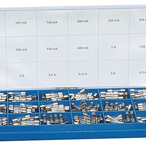 Set mit 360 Glassicherungen mit zeitlicher Begrenzung, 5 x 20