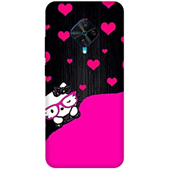 Kt Once You Have It You Love It... Kitty Cute Cartoon VIVO S1 PRO Mobile Back Cover, Multicolour