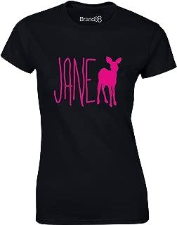 Brand88 - Punk Doe, Ladies Printed T-Shirt