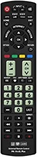Best Gvirtue Universal Remote Control Compatible Replacement for Panasonic TV/Viera Link/ 3D/ LCD/LED, N2QAYB000485 N2QAYB000100 N2QAYB000221 N2QAYB00048 Review