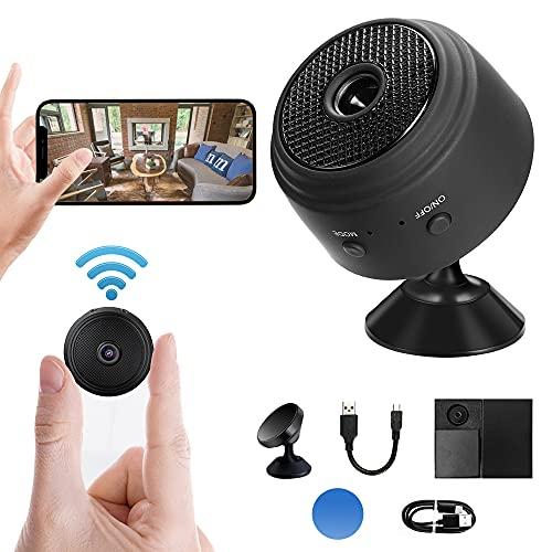 Mini Kamera, SHMSHNG Full HD 1080P...
