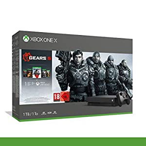Xbox One X - Bundle Gears of War 5 - Inclusi Gears of War 2, 3, 4 + 14 Days Live Gold + 1m Gamepass