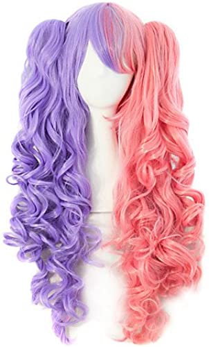 Mode Wigstyle en nylon de grande qualité Cheveux Cheveux bouclés Mode Couleur Fille Perruque Nécessaire sur vente Bon Marché