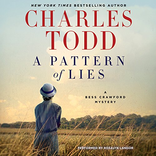 A Pattern of Lies audiobook cover art
