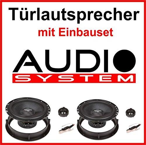 AUDIO-SYSTEM Lautsprecher mit Einbauset für VW Golf 4