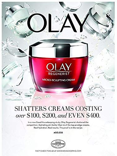 51eCrcwMqiL - Face Moisturizer with Collagen Peptides by Olay Regenerist Micro-Sculpting Cream 1.7 oz, 2 Month Supply