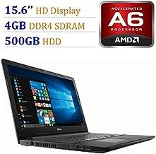 2018 Newest Premium Dell Inspiron 15.6-inch HD Display Laptop PC, 7th Gen AMD A6-9220 2.5GHz Processor, 4GB DDR4, 500GB HD...