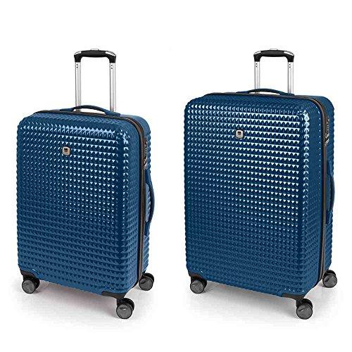 Set 2 Maletas M-L Quartz Gabol Azul