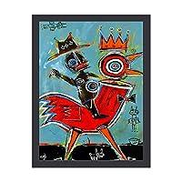 アートパネル アートポスター 壁掛け絵画 ジャン=ミシェル・バスキア アートフレーム 装飾画 インテリア絵画 部屋飾り キャンバス絵画 パネル フォトフレーム 壁ポスター 木枠セット 壁の絵 Arts 工芸用品 モダン おしゃれ