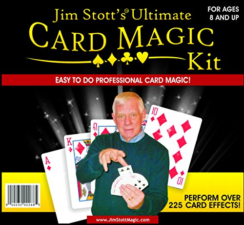 Jim Stott Magic Último Kit Magic Card, Trucos de Magia fijado para...