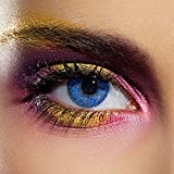 Colourvision Glimmer Blue Contact Lenses