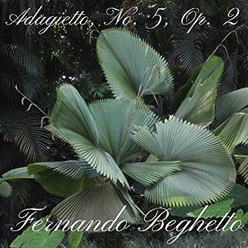 Adagietto, No. 5, Op. 2
