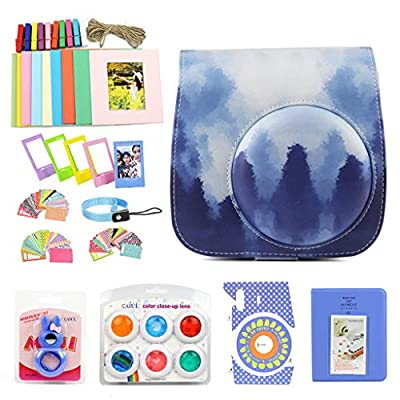 WOGOZAN Camera Case for Fujifilm Instax Mini 9 8 Camera Accessories Bundle Includes: Photo Albums,Color Filter, Selfie Lens,Wall Hanging Frames& Others from WOGOZAN