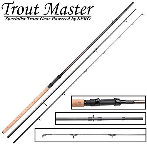Trout Master Tactical Lake Trout Forellenrute 3,30m 5-40g - Rute zum Forellenangeln, Forellenangelrute Angelrute für Forellenteich