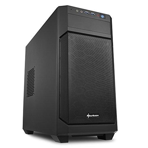 Sharkoon V1000 - Caja de Ordenador, PC Gaming, MICRO-ATX,
