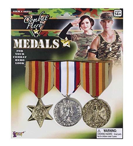Aptafêtes - AC5630 - Set de 3 medailles de militaire