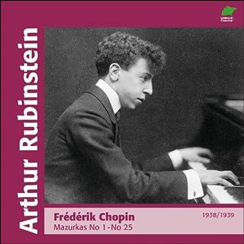 Chopin: Marzurkas Nos. 1 - 25 (1938 - 1939)