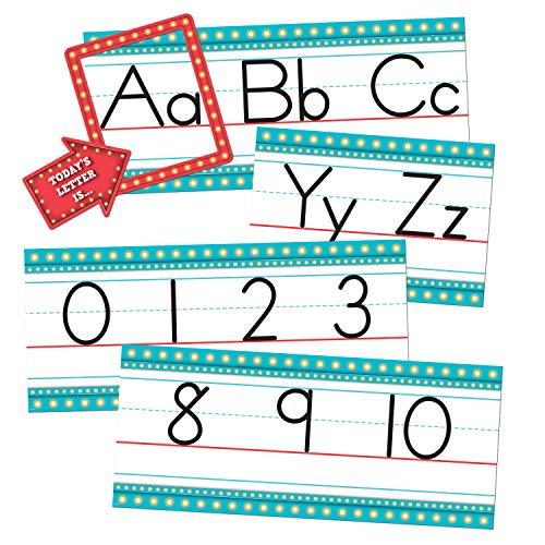 Marquee Alphabet Line Bulletin Board
