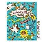 Die Schulder ZauberTiere: Endlich Pause! - Libro de acercamiento de banda 2 + Cooler Sticker, libro de actividades para niños a partir de 8 años