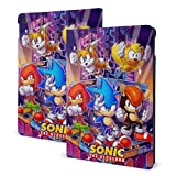 Ultra Lightweight Slim Tablet Cases with Soft TPU Back Case, Sonic The Hedgehog Logo iPad 10.2 2019 Case, Smart Cover Protective Case for iPad 7th Gen 10.2 Inch 2019