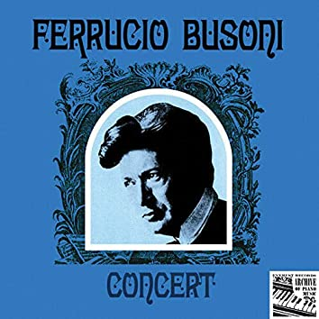 Ferrucio Busoni Concert